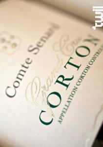 Corton Grand Cru - Comte Senard - 2014 - Blanc