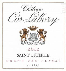 Château Cos Labory - Château Cos Labory - 2012 - Rouge