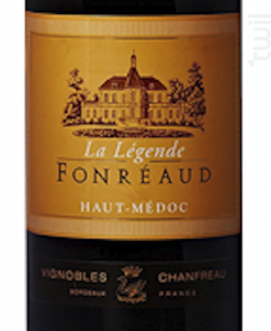 LEGENDE DE FONREAUD - Château Fonréaud - 2010 - Rouge