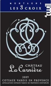 Montagne les 3 Croix - Château La Curnière - 2013 - Rouge