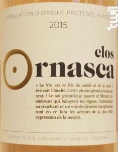 Clos Ornasca - Clos Ornasca - 2017 - Rosé
