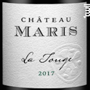 La Touge - Château Maris - 2017 - Rouge