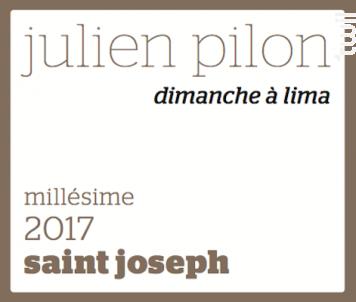 Dimanche à Lima - Domaine Julien Pilon - 2017 - Blanc
