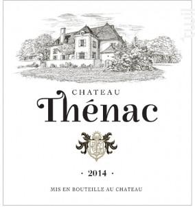 Château Thénac - Château Thénac - 2014 - Rouge