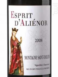 Esprit D'Aliénor - Vignobles Chatonnet - 2013 - Rouge