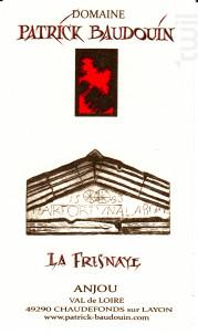 La Fresnaye - Domaine Patrick Baudouin - 2015 - Rouge