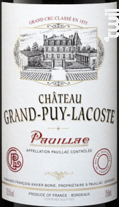 Château Grand-Puy-Lacoste - Château Grand-Puy-Lacoste - 2004 - Rouge
