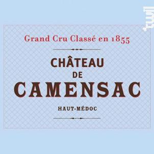 Château Camensac - Château de Camensac - 2015 - Rouge