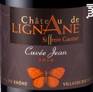 Cuvée Jean - Château de Lignane - 2014 - Rouge