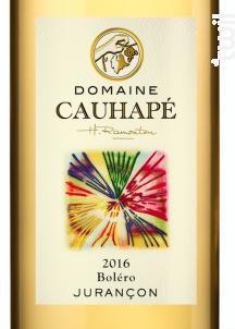 Boléro - Domaine Cauhapé - 2017 - Blanc