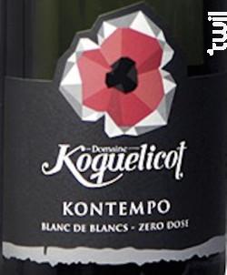 Kontempo - Domaine Koquelicot - Non millésimé - Effervescent