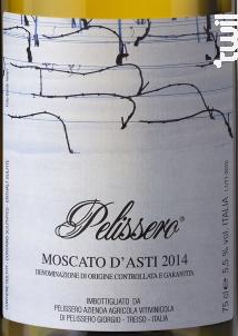 Moscato d'Asti Pelissero - Azienda Agricola di pelissero giorgio - 2017 - Effervescent