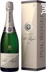 Pol Roger Brut Nature Pure - Champagne Pol Roger - Non millésimé - Effervescent