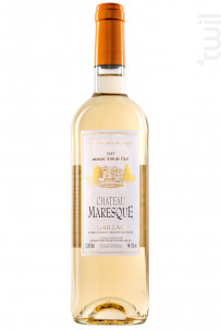 Château Maresque Blanc sec - Château Maresque - 2018 - Blanc