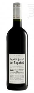 Le petit Journal - Domaine de Rapatel - 2014 - Rouge