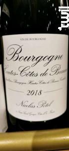 Hautes Côtes de Beaune - Nicolas Potel - 2018 - Rouge