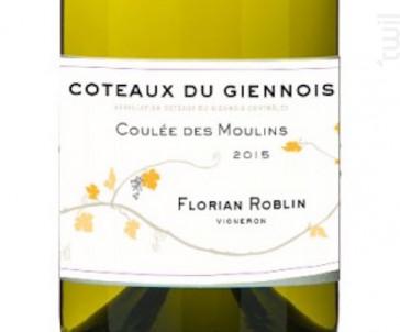 Roblin Coulée Des Moulins - Domaine Roblin - 2016 - Rouge