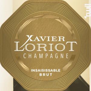 Insaisissable Brut - Champagne Xavier Loriot - Non millésimé - Effervescent