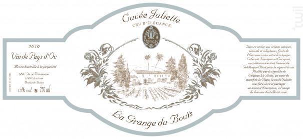 Cuvée Juliette - Château Le Bouïs - 2011 - Rouge