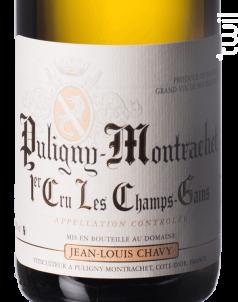 PULIGNY MONTRACHET 1er cru Champs Gains - Jean Louis Chavy - 2016 - Blanc