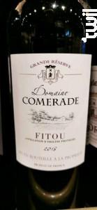 Domaine Comerade Grande Réserve - Les Maîtres Vignerons de Cascastel - 2018 - Rouge