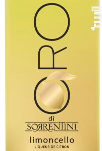 Limoncello Oro di Sorrentini - Liquoristerie de Provence - Non millésimé - Blanc