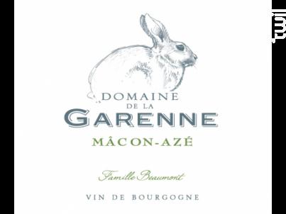 Mâcon-Azé - Domaine de la Garenne - 2016 - Blanc