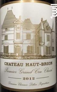 Château Haut-Brion - Domaines Clarence Dillon- Château Haut-Brion - 2012 - Rouge