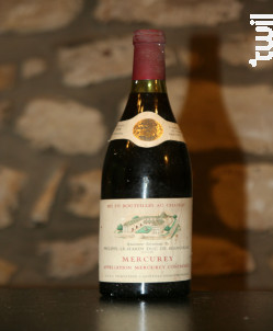 Mercurey - Château Philippe-le-Hardi - 1979 - Rouge