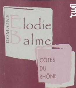 Elodie Balme - Domaine Elodie Balme - 2018 - Rouge
