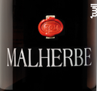 Malherbe Rouge - CHATEAU MALHERBE - BIO - 2014 - Rouge
