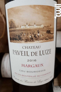 Château Paveil de Luze - Château Paveil de Luze - 2016 - Rouge