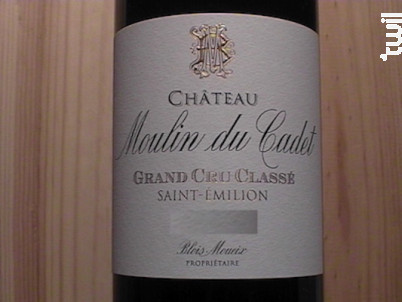 Château Moulin du Cadet - Château Moulin du Cadet - 2014 - Rouge