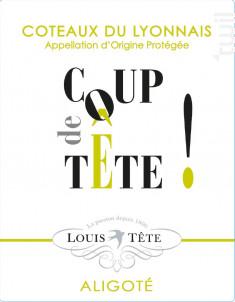 Coup de Tête - Louis Tête - 2019 - Blanc