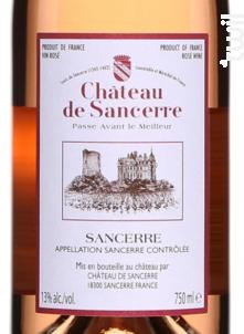Château de Sancerre - Château de Sancerre - 2019 - Rosé