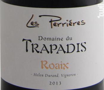 Les Perrières - Domaine du Trapadis - 2016 - Rouge