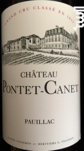 Château Pontet-Canet - Château Pontet-Canet - 1989 - Rouge