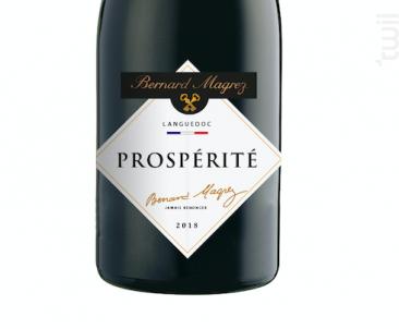 Prospérité - Bernard Magrez - 2018 - Rouge