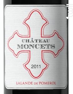 Château Moncets - Moncets & Chambrun - 2014 - Rouge