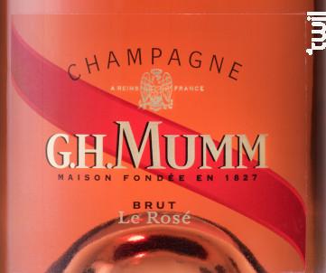 Le Mumm Rosé - G.H. Mumm - Non millésimé - Effervescent