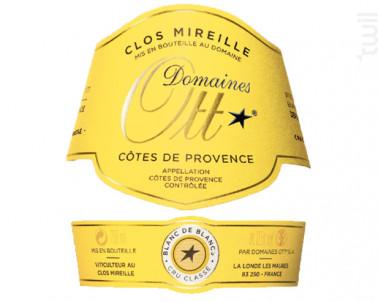 Clos Mireille Blanc de Blancs - Domaines Ott - Clos Mireille - 2014 - Blanc