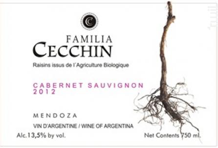 Cabernet Sauvignon - Bodega Familia Cecchin - 2012 - Rouge