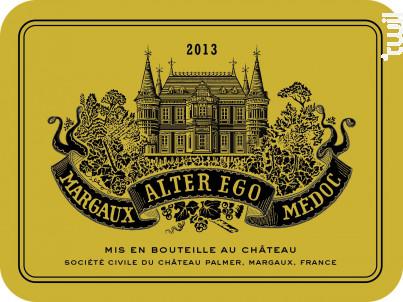 Alter Ego de Palmer - Château Palmer - 2013 - Rouge