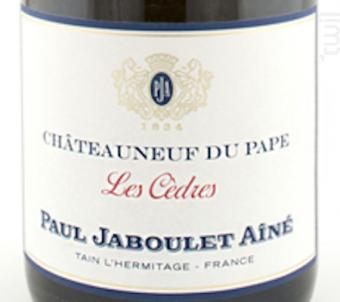Les Cèdres - Paul Jaboulet Aîné - 2016 - Blanc