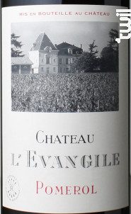 Château l'Evangile - Domaines Barons de Rothschild - Château L'Evangile - 2013 - Rouge