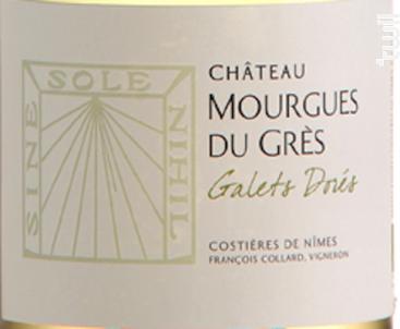 Les Galets Dorés - Château Mourgues du Grès - 2019 - Blanc
