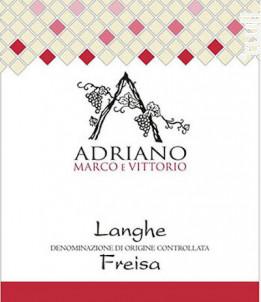LANGHE FREISA - MARCO E VITTORIO ADRIANO - 2013 - Rouge