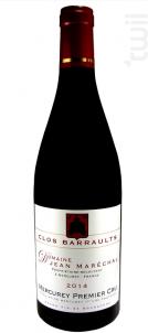 Mercurey Premier Cru Clos Barraults - Domaine Jean Marechal - 2014 - Rouge