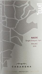 Naoki's Vineyard - Malbec - Casarena - 2018 - Rouge