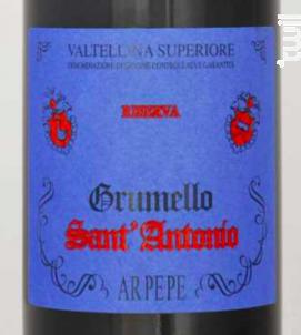 Valtellina Sassella Riserva Sant' Antonio - Arpepe - 2009 - Rouge
